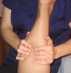 Deep Tissue Massage Sports leg